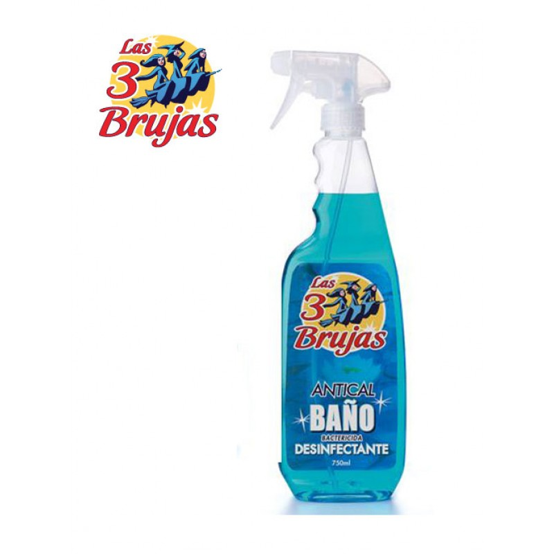 3 Brujas / 3 Witches Bathroom Disinfectant Spray 750ml