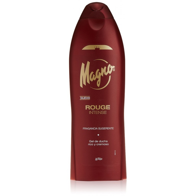 MAGNO SHOWER GEL ROUGE INTENSE 550ml