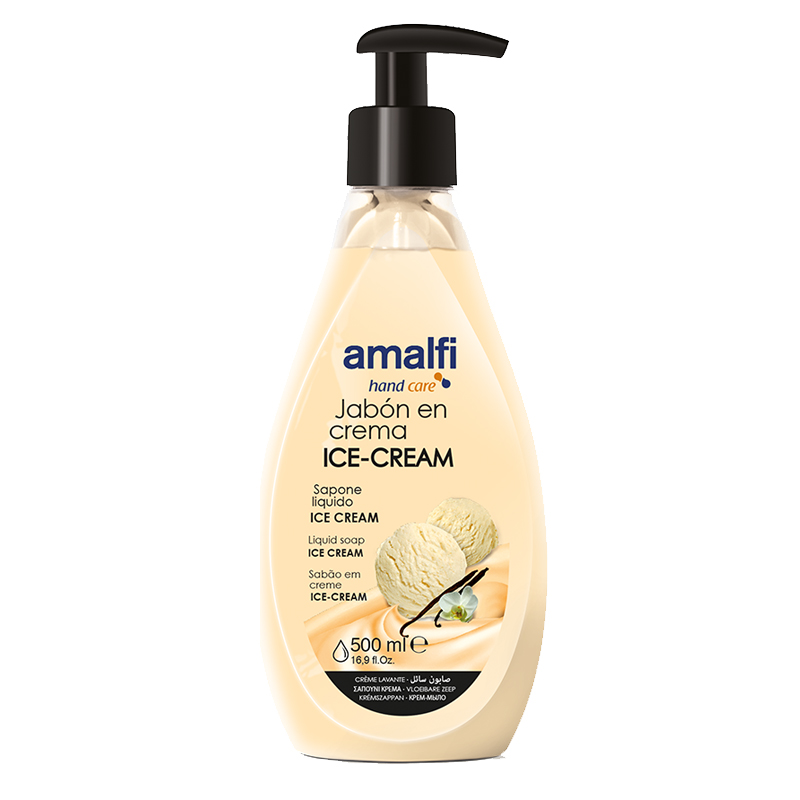 Amalfi Hand Soap with Pump Top 500ml - Ice Cream