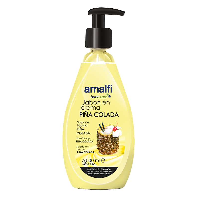 Amalfi Hand Soap with Pump Top 500ml - Pina Colada