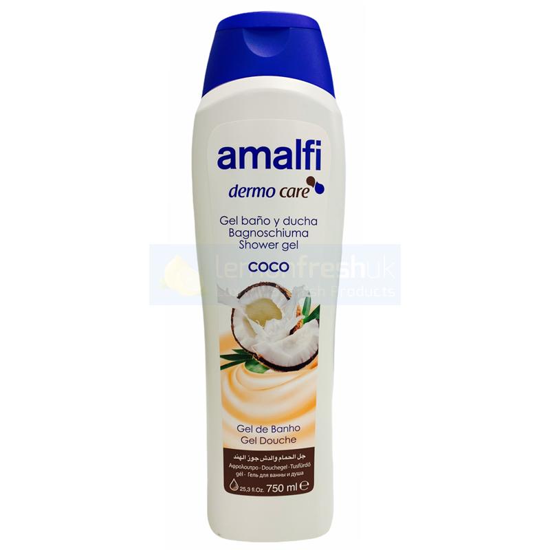 Amalfi Shower Gel 750ml - Coconut