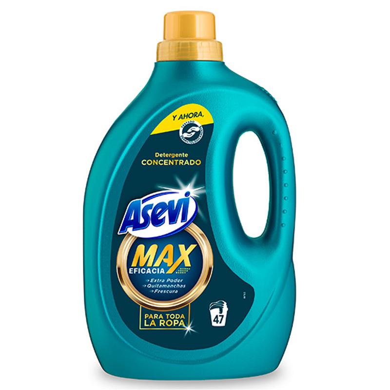 Asevi Detergent Wash Gel Max Concentrated 47 Wash 2.8L