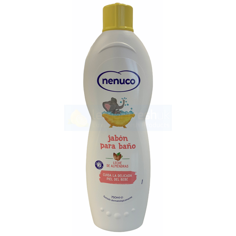 Nenuco Almond Bath Milk Soap 750ml