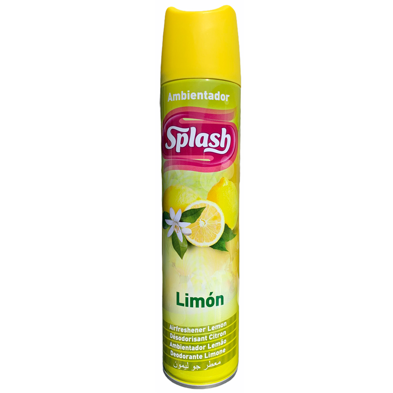 Splash Room Spray Air Freshener Vertical - Lemon