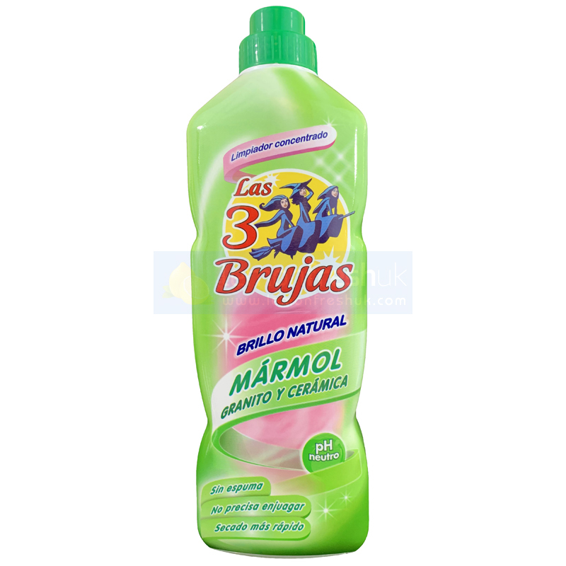 3 Brujas / 3 Witches Marble Granite Ceramic Cleaner 1 litre