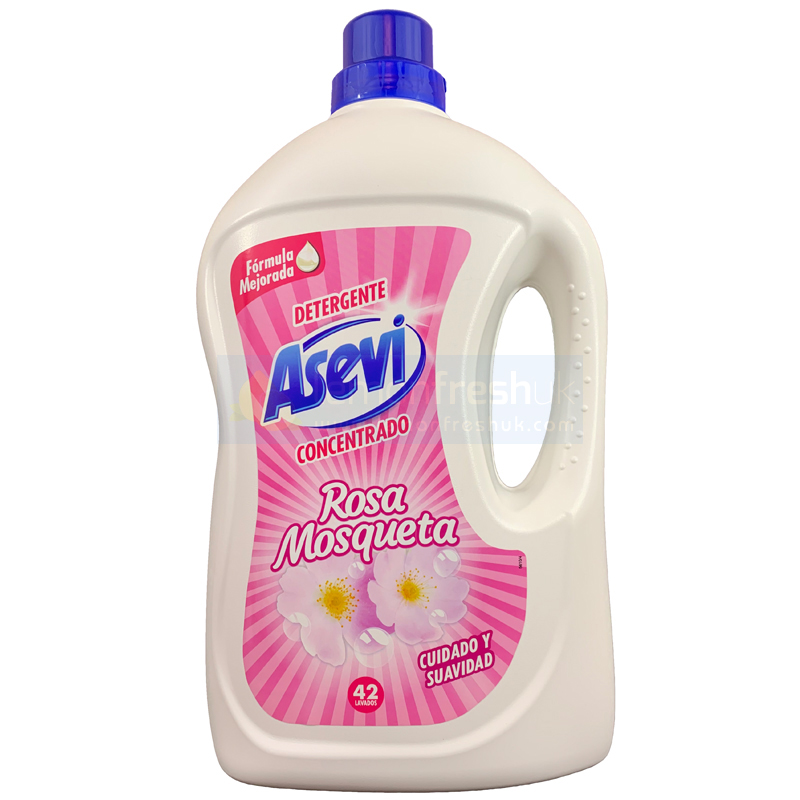 Asevi Detergent Wash Gel Rosa Mosqueta 3 Litre Concentrated