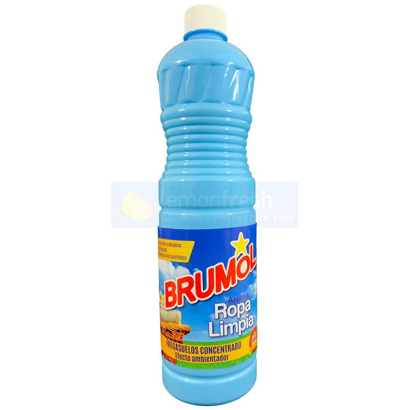 Brumol Floor Cleaner BLUE - Ropa Limpia 1 Litre