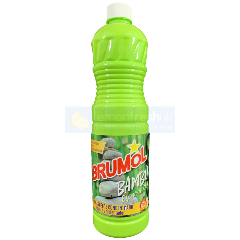 Brumol Floor Cleaner GREEN - Bambu 1 Litre