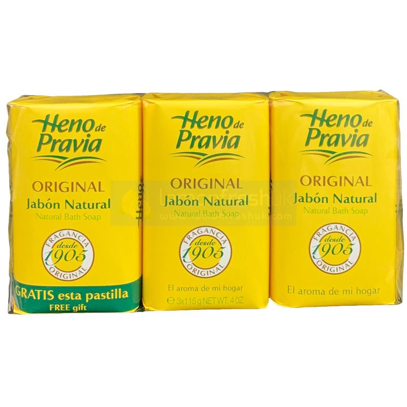 HENO DE PRAVIA SOAP ORIGINAL 3x120g