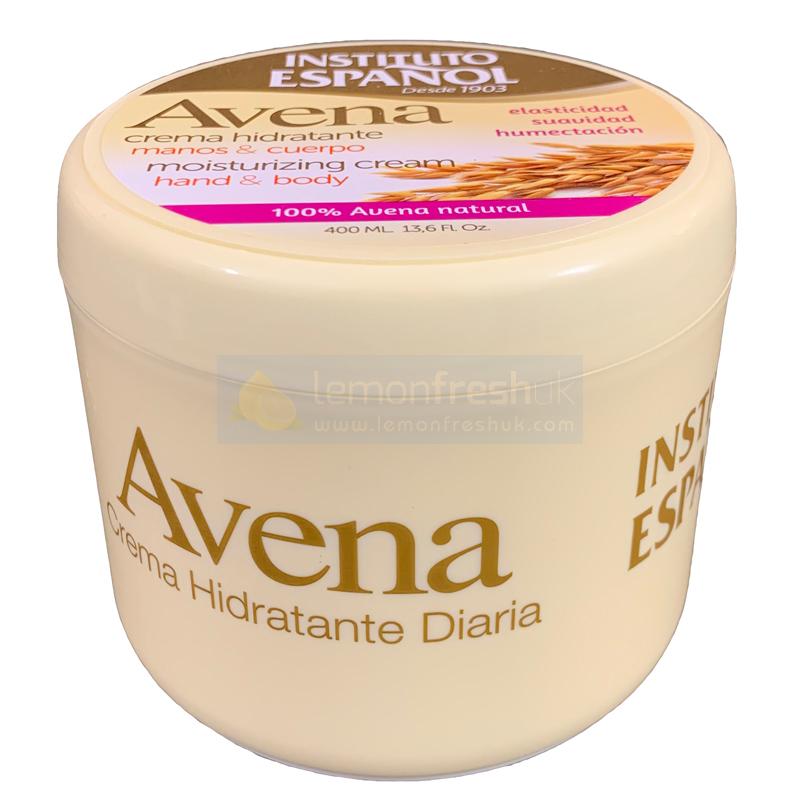 Instituto Espanol Avena Moisterising Cream 400ml