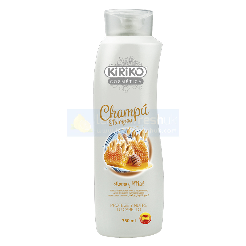 KiRiKo Shampoo - Oats and Honey Avena 750ml