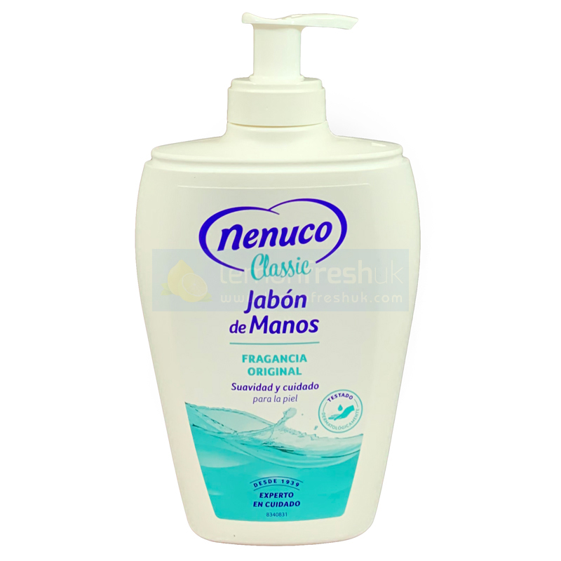 Nenuco Classic Hand Soap with Pump Top 240ml