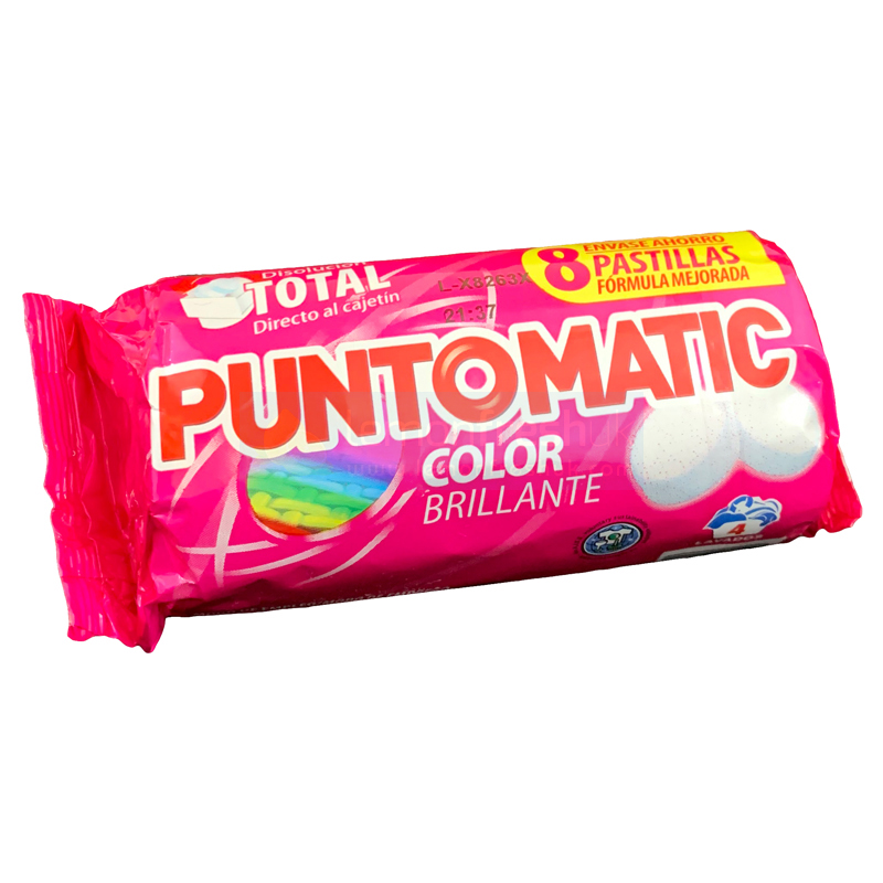 Puntomatic Detergent Tablets for Colours - 4 Wash