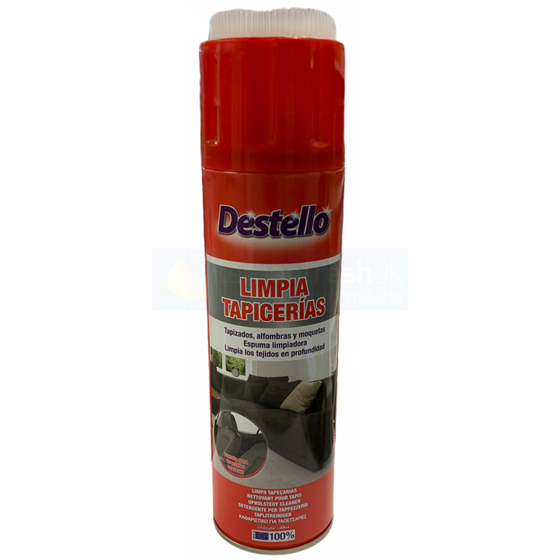 Destello Upholstery Carpet and Rug Cleaner with Brush