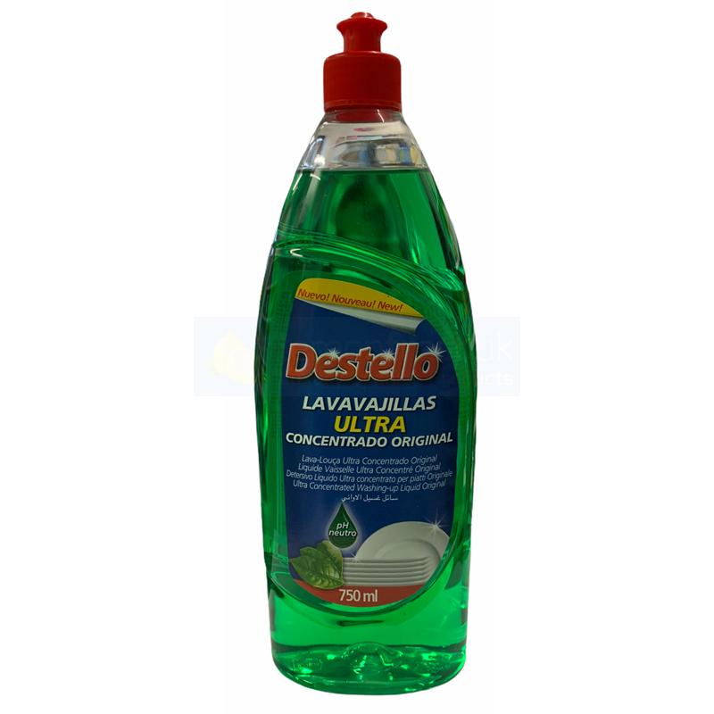 Destello Super Concentrated Washing Up Liquid 750ml - Original