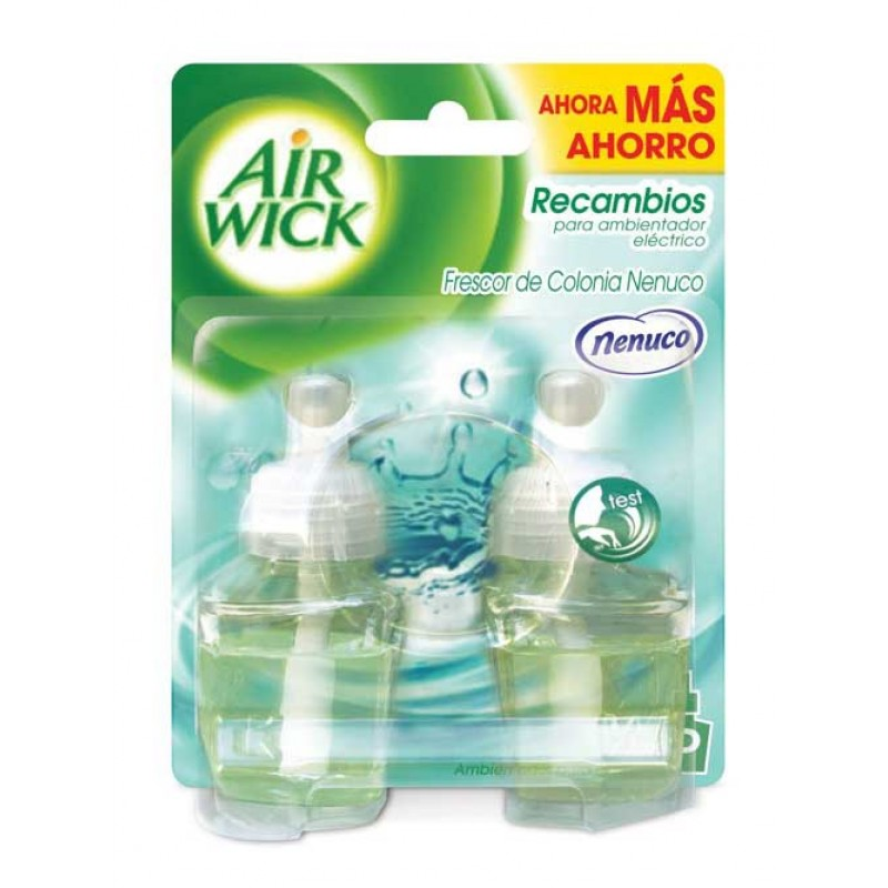 Air Wick Plug-in refills double pack Nenuco