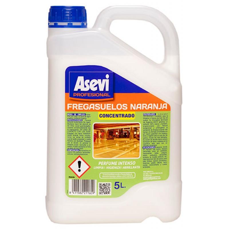 ASEVI 5 litres PROFESIONAL FLOOR CLEANER ORANGE