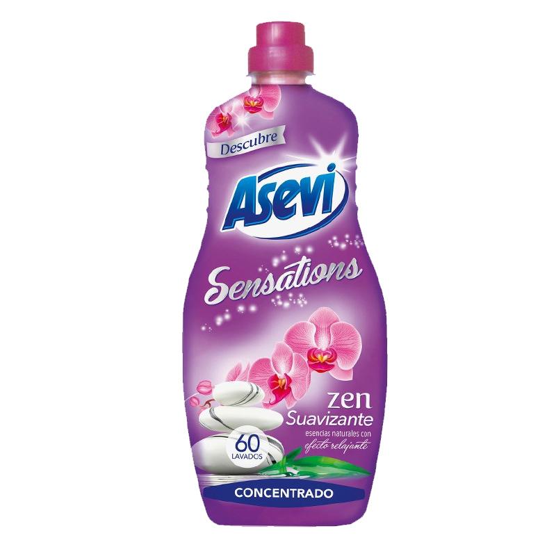 Asevi Sensations Fabric Softener - Zen - 60 Wash 1.4L