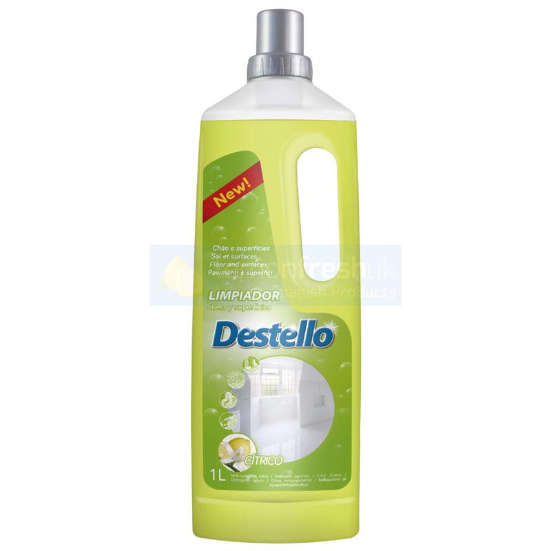 Destello Concentrated Floor & Surface Cleaner 1L - Citrus
