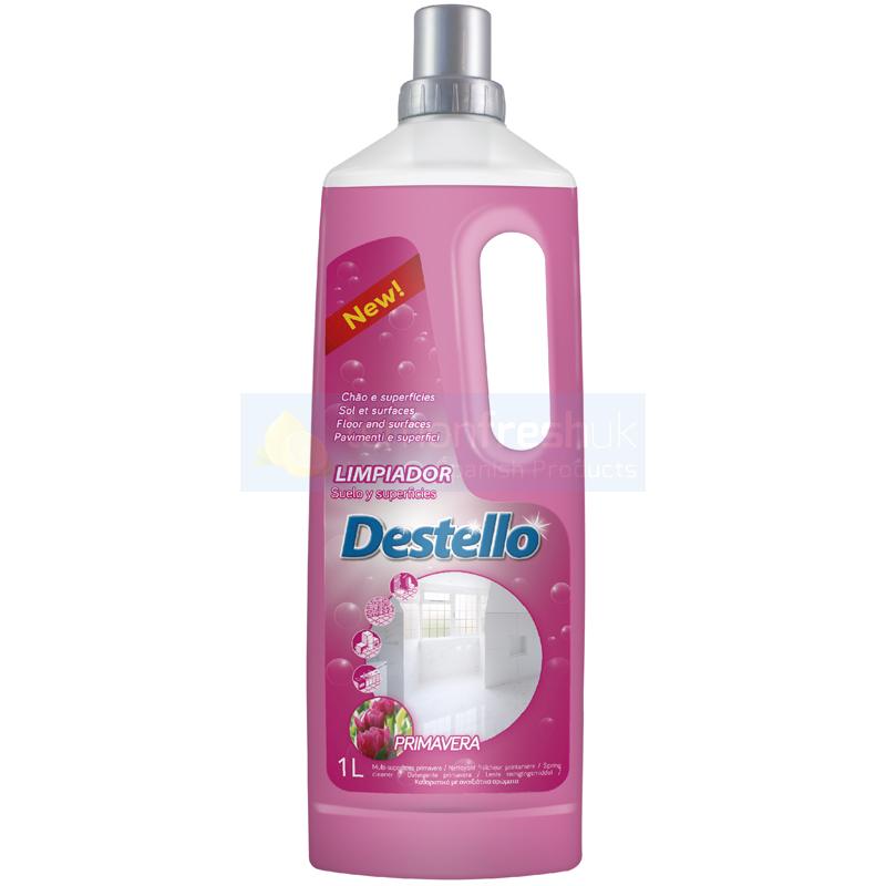 Destello Concentrated Floor & Surface Cleaner 1L - Primavera