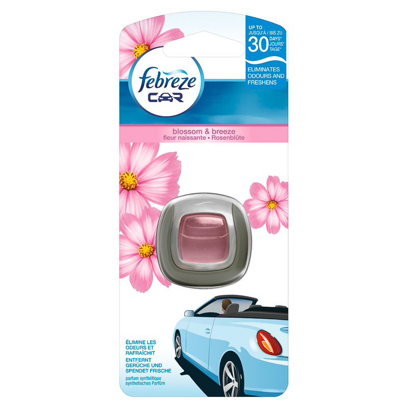 Febreze Car Clip Freshener Blossom and Breeze