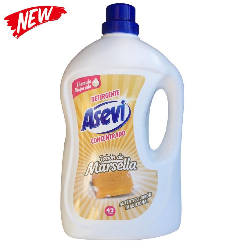 ASEVI Wash Gel Detergent JABON DE MARSELLA 42 washes 3 Litres