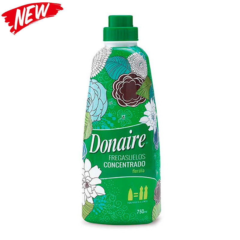 Donaire Green Concentrated Floor Cleaner 750ml - Floral