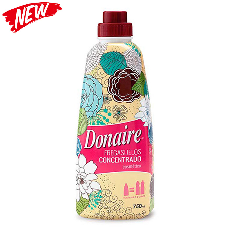 Donaire Pink Concentrated Floor Cleaner 750ml - Cosmetico
