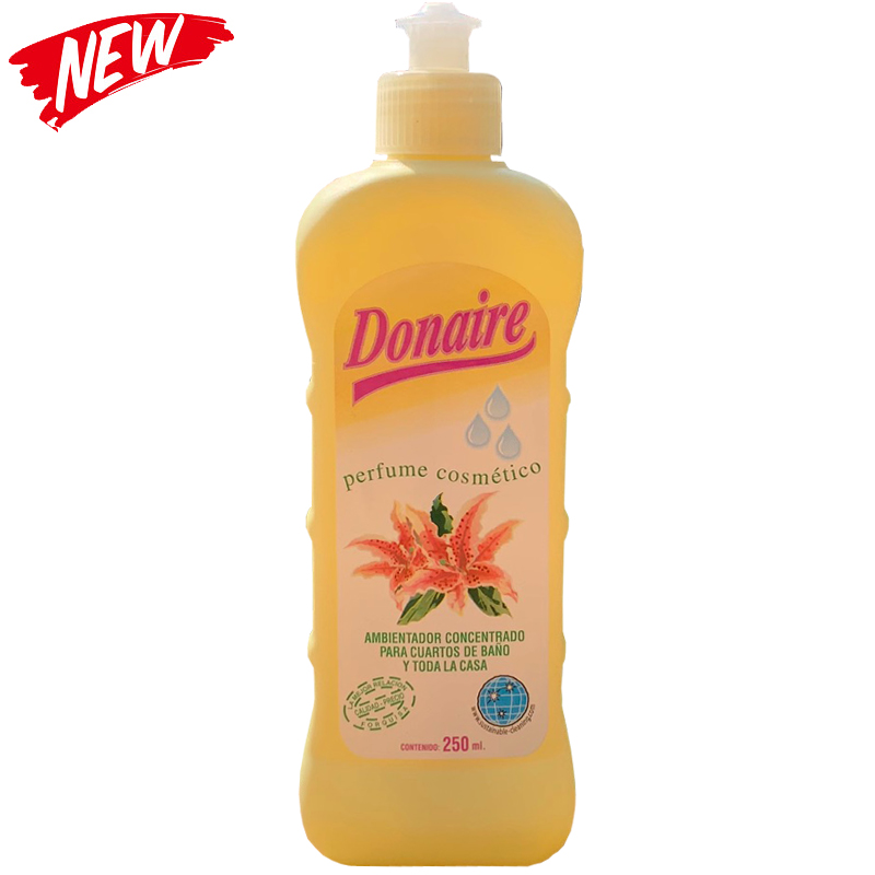 Donaire Floral Toilet Drops 250ml Concentrated Air Freshener
