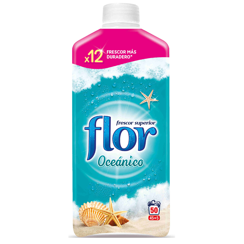 Flor Fabric Conditioner 1.1L 45+5 Wash - Oceanico