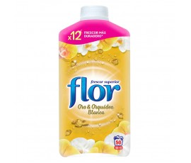 Flor Fabric Conditioner 1.1L 45+5 Wash - Gold & White Orchid