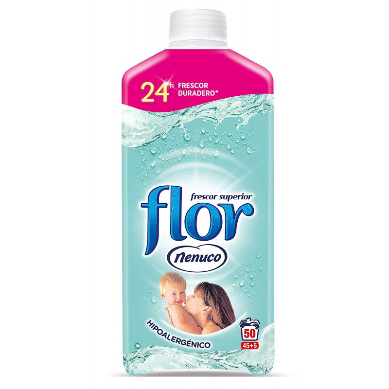 Nenuco Flor Fabric Conditioner 1.1L 45+5 wash