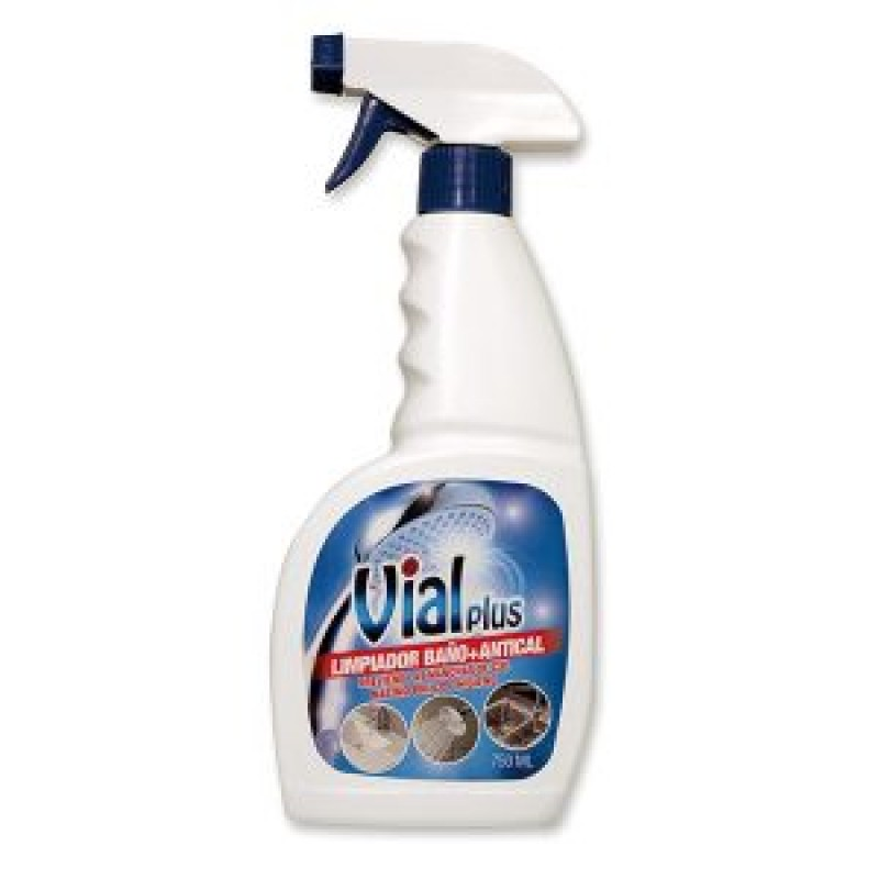 Vialplus Anti-Bacterial Bathroom and Limescale Cleaner Spray 750ml