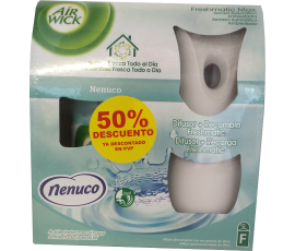 Air Wick Freshmatic Max Dispenser Unit with Nenuco refill