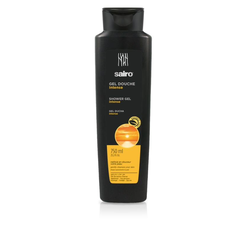Sairo Intense Shower Gel  Parabens-free 750ml