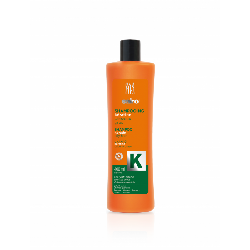 Sairo Keratin Shampoo for oily or greasy hair 400ml