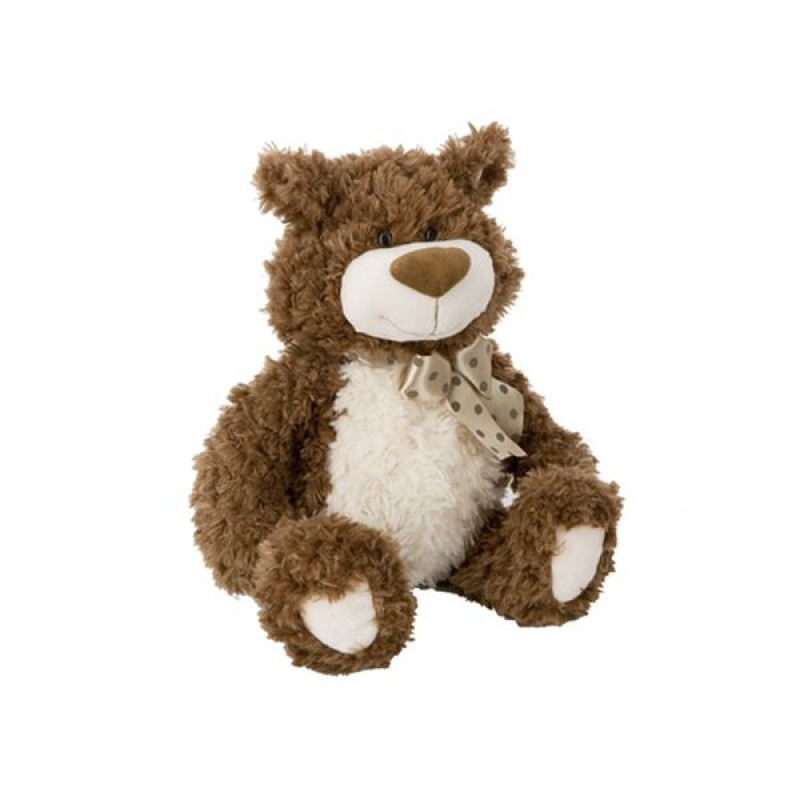 Pogo Bear with Polka Dot Ribbon 12 inches 30cm