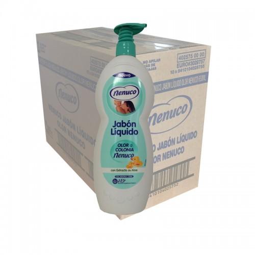 Nenuco Bath Soap/Shower Gel Original with pump top 650ml - 1 Case - 10 Units